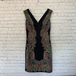 Boston Proper Paisley Sheeth Dress